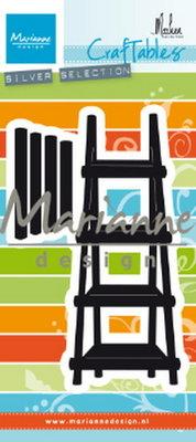 Marianne desgn - CR1463 -   Craftables stencil Marleen's shelves