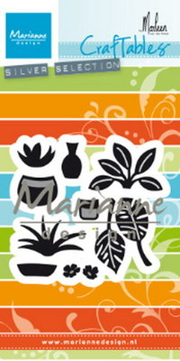 Marianne desgn - CR1464 -   CCraftables stencil Marleen's greenery