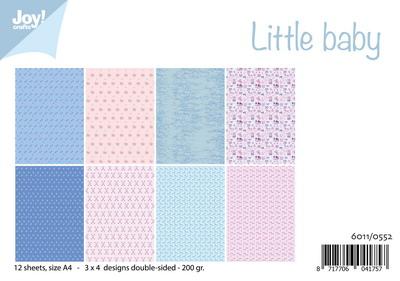 Joy! papierset little baby 6011/0552