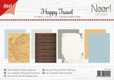 Joy! papierset Happy travel 6011/0593