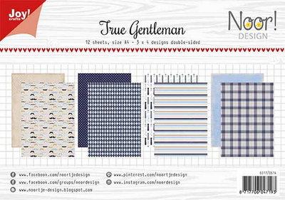 Joy! papierset True gentlemen 6011/0614