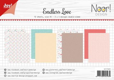 Joy! papierset Endless love 6011/0605