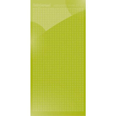HSPM01N Hobbydots sticker Sparkles 01 Mirror Leaf Green