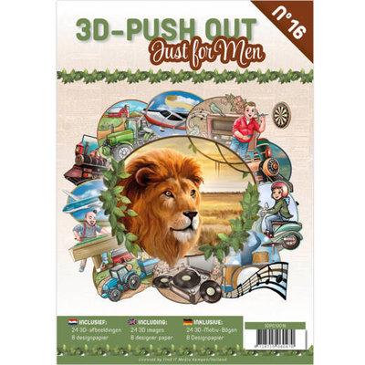 3DPO10016 3D Pushout Book 16