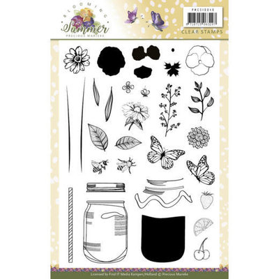 PMCS10040 Clear Stamps - Precious Marieke - Blooming Summer