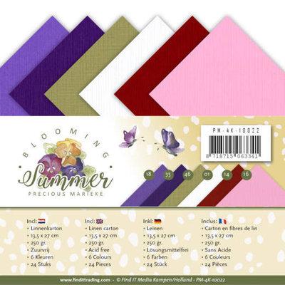 PM-4K-10022 Linnenpakket - 4K - Precious Marieke - Blooming Summer