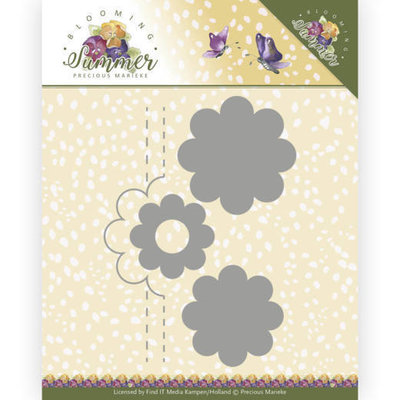 PM10154 Dies - Precious Marieke - Blooming Summer - Pop-up Flower 2
