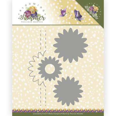 PM10153 Dies - Precious Marieke - Blooming Summer - Pop-up Flower 1