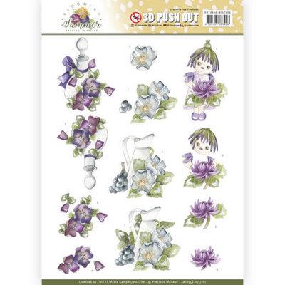 SB10356-HJ17101 3D Pushout - Precious Marieke - Blooming Summer - Summer Scenes