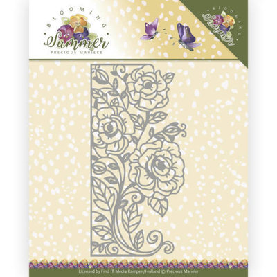 PM10156 Dies - Precious Marieke - Blooming Summer - Rose Edge