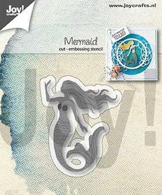 Joy! stencil Zeemeermin6002/1319