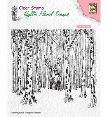 Deer in forest - IFS017