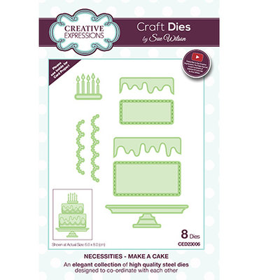 Creative Expressions - Make A Cake - CED23006