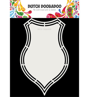 Dutch Doobadoo - Dutch Shape Art -  Shield 470.173.176