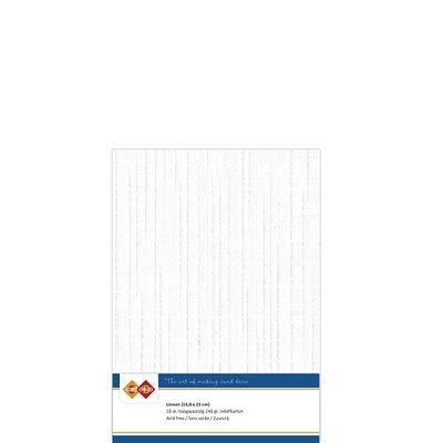 LKK-A501 Linnenkarton - A5 - Wit