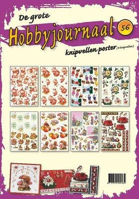3DHJKP56 Knipvel Poster - Hobbyjournaal 56
