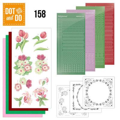 DODO158 Dot and Do 158 Red Flowers
