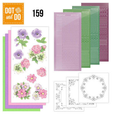 DODO159 Dot and Do 159 Summer Flowers