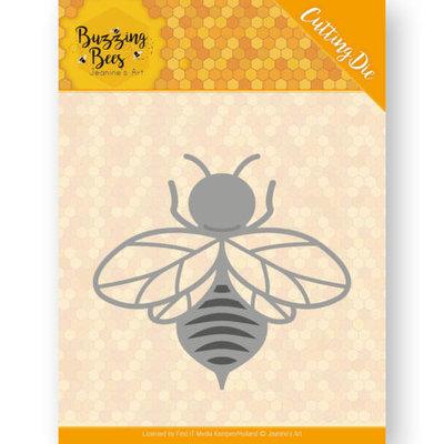 JAD10072 Dies - Jeanines Art - Buzzing Bees - Hobbyzine Die - Buzzing Bee