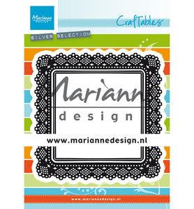 Marianne desgn - Craftables stencil Shaker Square CR1475