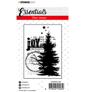 Studio Light Clear Stempel, A7 -  STAMPSL390 - Stamp Essentials nr. 390