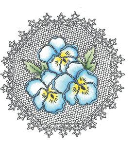 Marianne design, Clear Stamp  -  Pansies