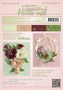Silk paper ,  pink