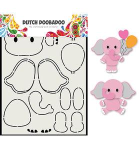 DDBD Card Art - Olifant  470.713.795