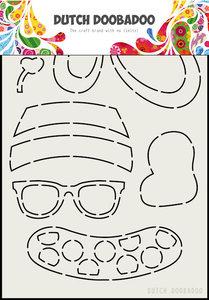 DDBD Card Art -  Built up Bear Zomer 470.713.801
