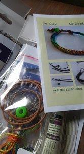 DIY Bracelet set - rainbow