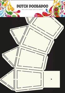 Dutch Doobadoo - Dutch Box Art - Stencil Lantaarn A4