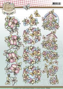 3D Knipvel - Yvonne Creations - Spring-tastic - Butterflies