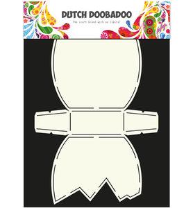 Dutch Doobadoo - Dutch Card Art - Stencil - paasei