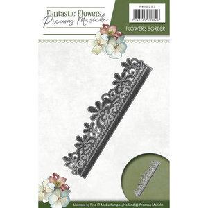 Die - Precious Marieke - Fantastic Flowers - Flowers border