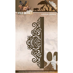 Die - Amy Design - Wild Animals - African Border   ADD10105