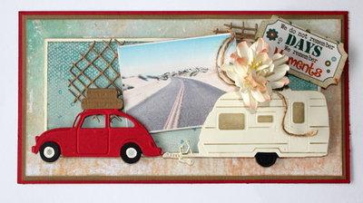 Joy! stencil 3D caravan 6002/0693
