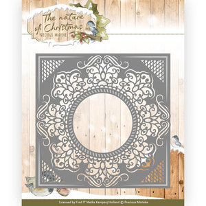 Die - Precious Marieke - The nature of Christmas - Christmas frame