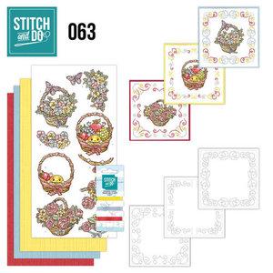 Stitch & do -  63 - Get Well soon