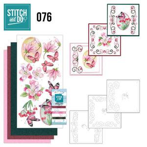 Stitch & do - 76 - Pink Flowers