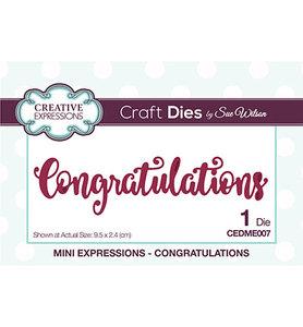 Creative Expressions - CEDME007 - Congratulations