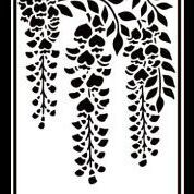 "Embossing Folder ""Wisteria"" HSF021"