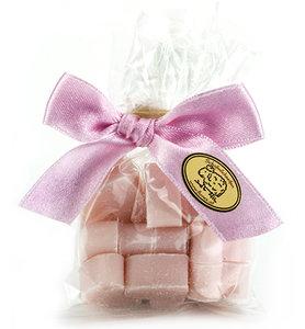18104315 - schapenmelk zeepjes - Hartjes Mini 10 st. Pink in Cello