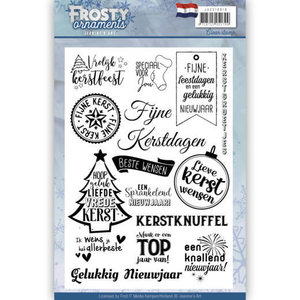 Textstamp - Jeanine's Art - Frosty Ornaments - NL JACS10018