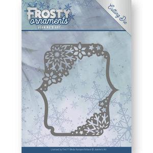 Dies - Jeanine's Art - Frosty Ornaments - Rectangle Ornament JAD10042