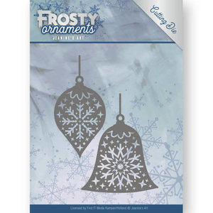Dies - Jeanine's Art - Frosty Ornaments - Christmas Baubles JAD10043
