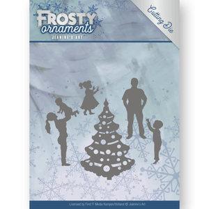 Dies - Jeanine's Art - Frosty Ornaments - Happy Family JAD10047