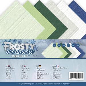Linnenpakket - A5 - Jeanine's Art - Frosty Ornaments JA-A5-10006