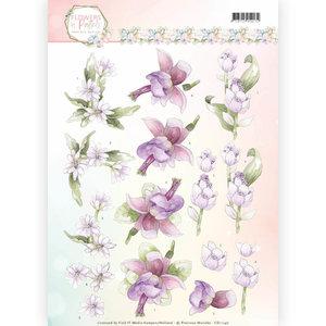 3D Knipvel - Precious Marieke - Flowers in Pastels - Lilac Mist CD11140