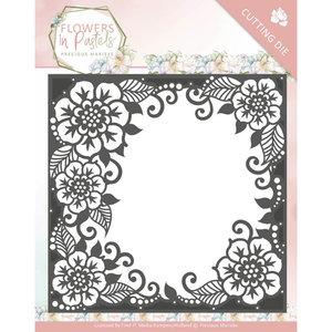 Dies - Precious Marieke - Flowers in Pastels - Floral Frame PM10134