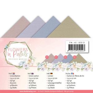 Linnenpakket - 4K - Precious Marieke - Flowers in Pastels PM-4K-10019